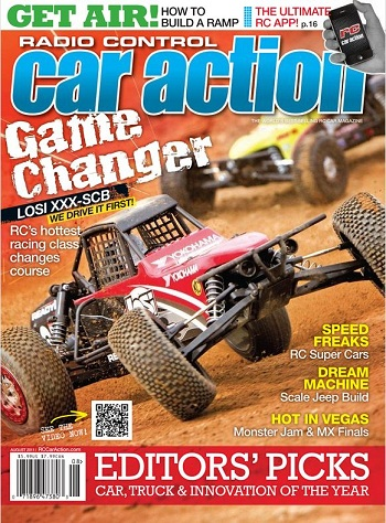 Find The Hexcrews HEXdek Ad In The August RC Car Action Magazine And Reap The Rewards