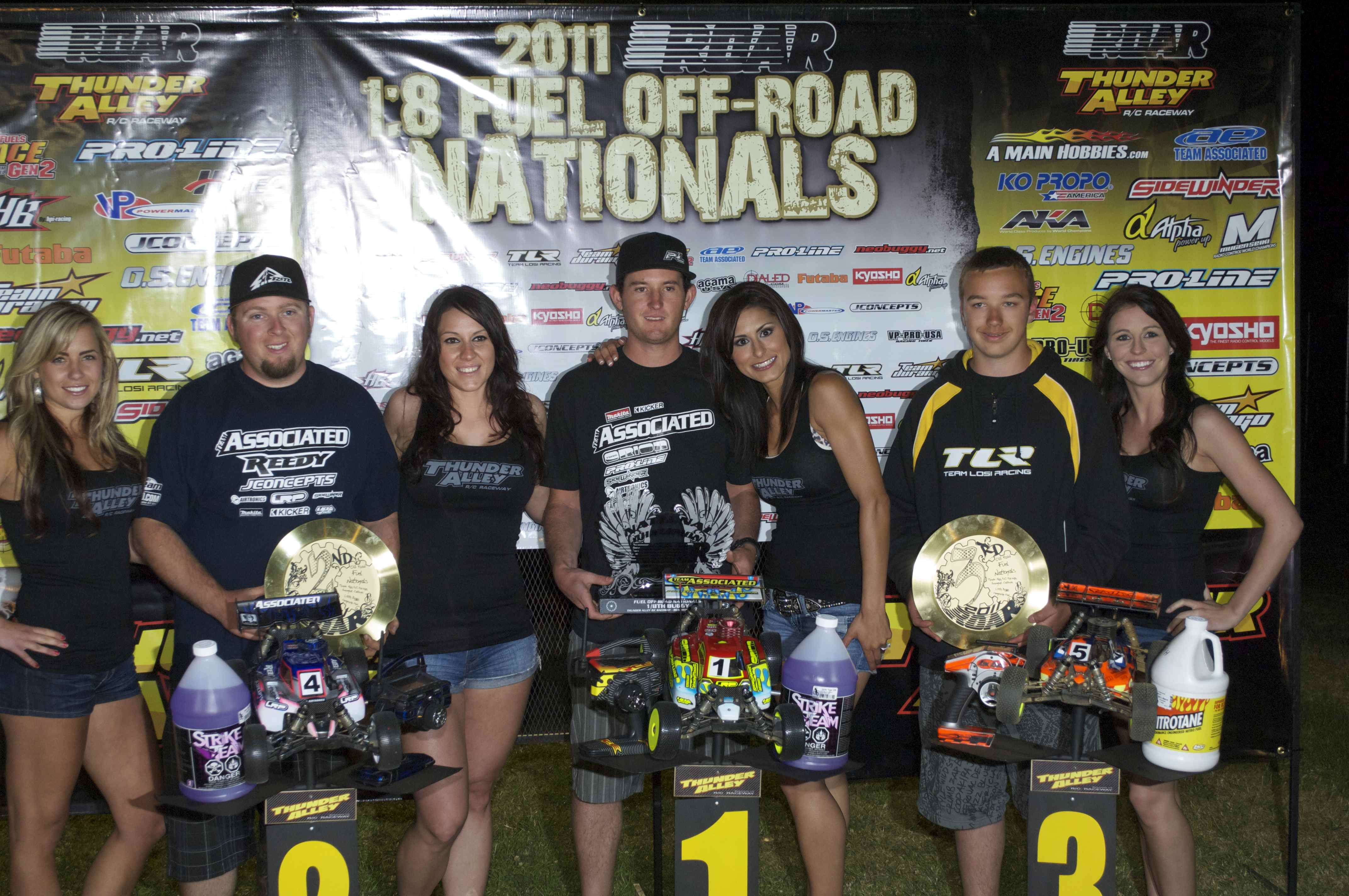 2011 ROAR 1/8-scale Fuel Off-road Nationals, Team Associated Wins Big