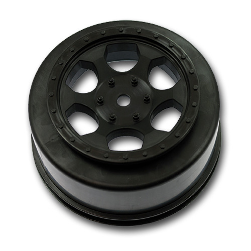 "DE Racing ""Trinidad"" Wheels For The Team Associated SC10 4×4 And SC10 RS"