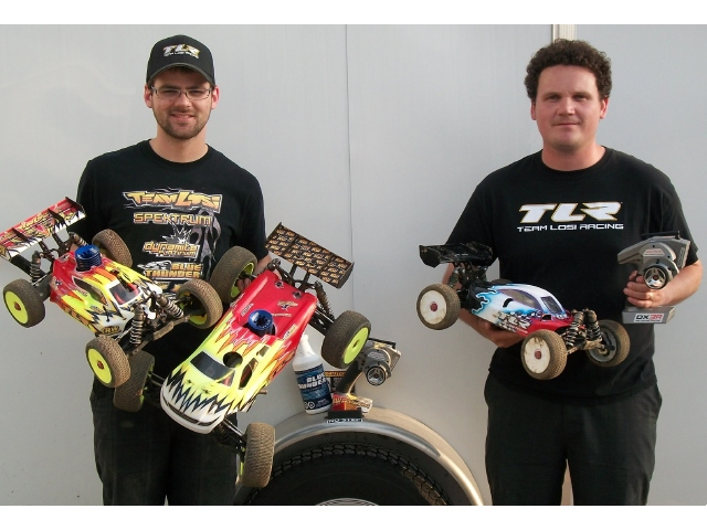 2011 JConcepts 1/8 Spring Nationals: TLR Wins 1/8 Nitro And Electric Buggy