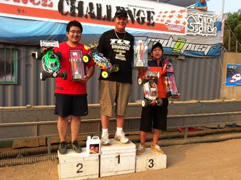 RC Force 2011 Challenge: TLR Wins