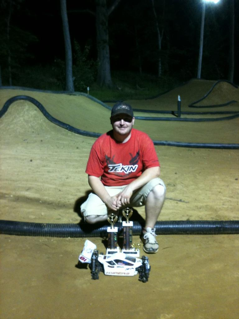 Memorial Weekend Shootout At Reo Raceway: Tekin's Mike Malott TQ's And Wins
