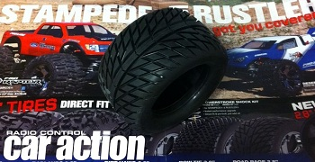 "World Exclusive: Pro-Line Street Fighter 2.8"" Traxxas Style Bead Tires"