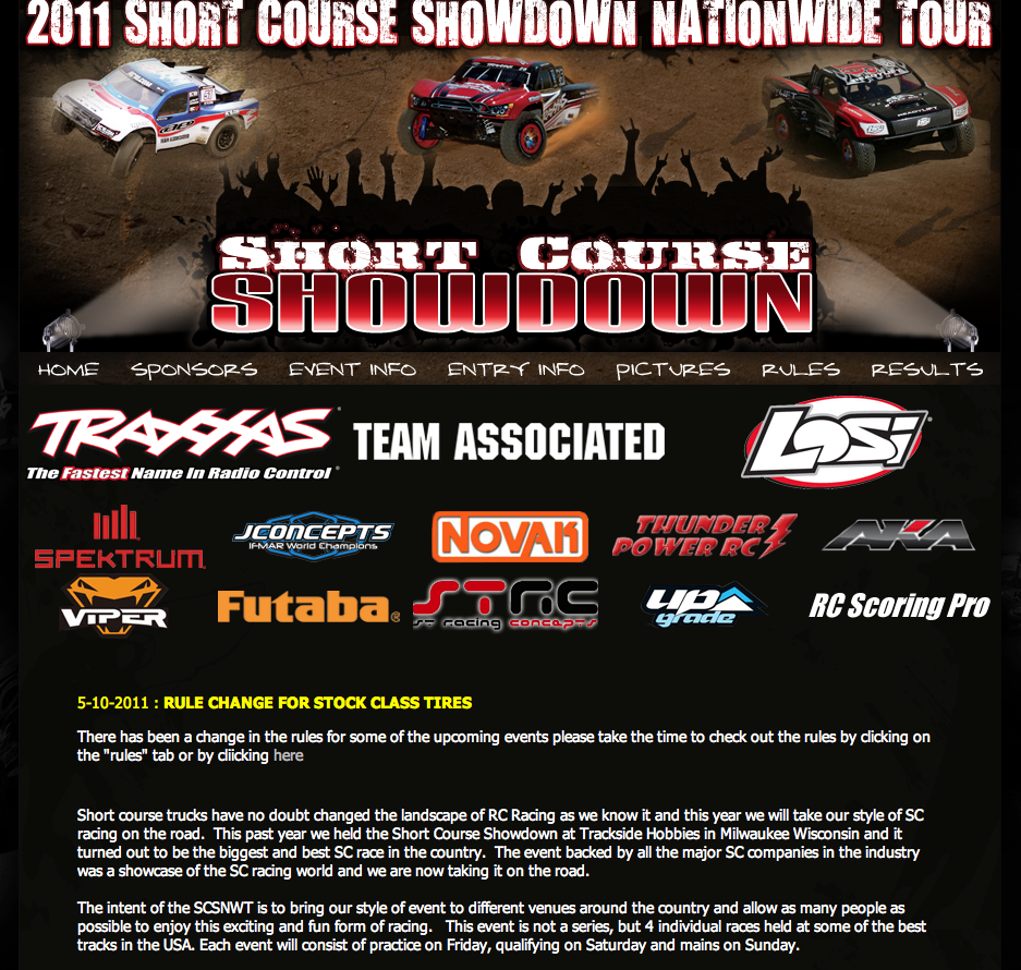 2011 Short Course Showdown: VIDEO