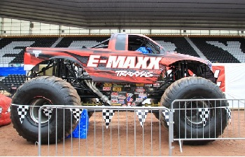 Traxxas Full-size Monster Jam E-Maxx Monster Truck