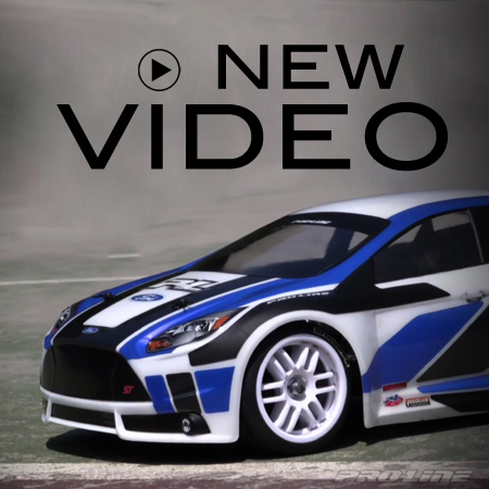 Ford Focus ST Pro-Line Body: VIDEO