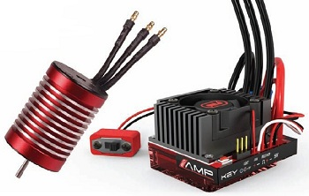 Venom V540 3300Kv And 80A Waterproof ESC Combo For 2WD 1/10 Vehicles