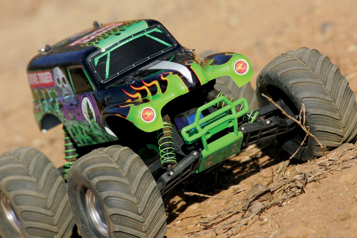 Traxxas Monster Jam Replicas Suspension Tuning