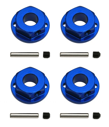 Team Associated Factory Team SC10 4×4 Aluminum Wheel Hexes