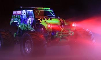Traxxas Red LED Light Kit for Grave Digger Monster Truck