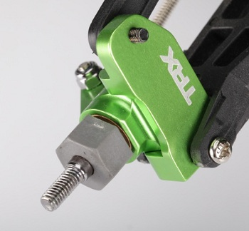 Traxxas Green-anodized Aluminum Accessories for Grave Digger Monster Truck