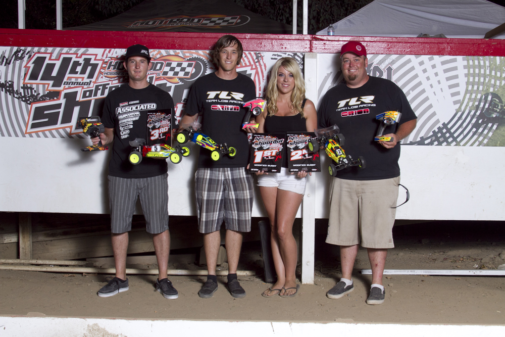 Tebo – Cavalieri – Evans – Fischer Win at 2011 Hot Rod Shootout