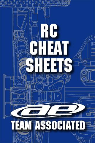 Team Associated RC Cheat Sheets V2 iPhone App
