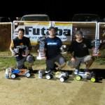 Pro Truggy winners: 1st Jason Branham, 2nd Jimbo Kvidera, 3rd Sonny O