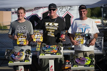 JBRL Series #4 At Palm Desert Raceway: TLR Wins Expert 1/8 Classes
