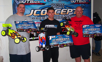 Summer Indoor Nationals: Caster Racing USA's Rick Jenkins 2nd In 1/8 Electric Buggy