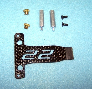 X Factory Carbon Fiber Battery Strap For The TLR 22