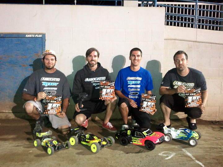 Team Associated on Top in 4 at JBRL Round 5