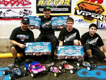 JConcepts Summer Indoor Nationals: Viper RC Wins Mod Truck, 17.5 SC And 2WD Buggy, 1/8 Electric Buggy