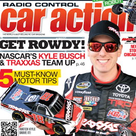 Radio Control Car Action September 2011 magazine on sale now.  Check out some photos from the issue!