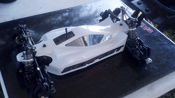 Prototype Pics Of Serpent's Cobra S811-Be 1/8 Buggy