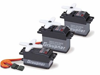 Graupner/GM High-Voltage Brushless Servos