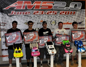 Alabama Manufacturer Shootout: TQ Racing Wins 2WD Open Short Course Class