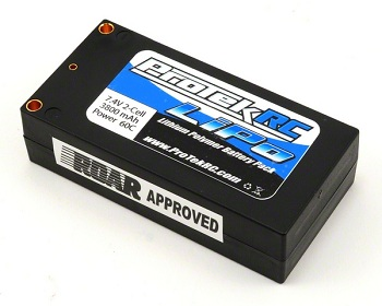 ProTek R/C 60C Supreme Power Shorty And 50C Sport Race LiPo Packs