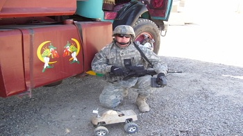 Traxxas Vehicle Used By Soldier In Afghanistan To Save Lives