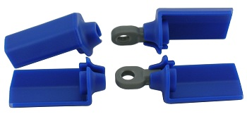RPM Shock Shaft Guards For Team Associated 1/10 Shocks
