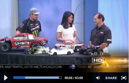 RCX Chicago Makes ABC 7 News!