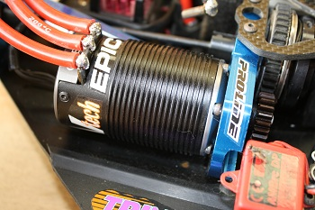 Futaba Electric Challenge: Prototype Epic Revtech 1/8 Brushless Motors