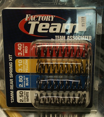 Futaba Electric Challenge: Team Associated Factory Team Spring Kits For The SC10 4X4
