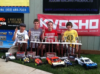 ROAR Region 11 Electric Off-Road Championships: Kyosho Wins Multiple Classes