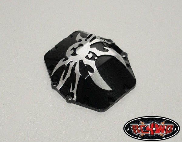 RC4WD Poison Spyder Bombshell Diff Cover For Axial Wraith