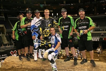 Traxxas Sponsored Justin Soule' On Podium at X Games Endurocross