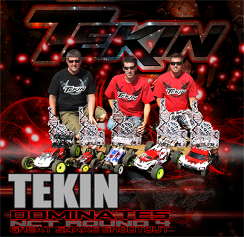 Great Snake Shootout: Tekin Wins