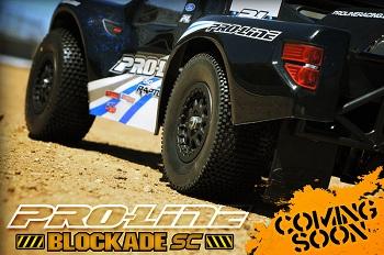 Sneak Peak At Pro-Line's Blockade SC Tire