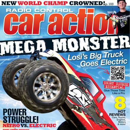 RC Car Action October magazine on sale now. Check out some images from the issue!