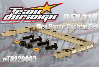 Team Durango Flex Brace System Set For The DEX410