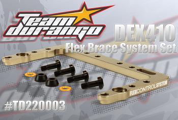 Team Durango Flex Brace System Set For The DEX410