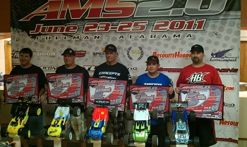 AMS 2011 In Alabama: MaxAmps.com Takes 1st Place In E-Truggy Class