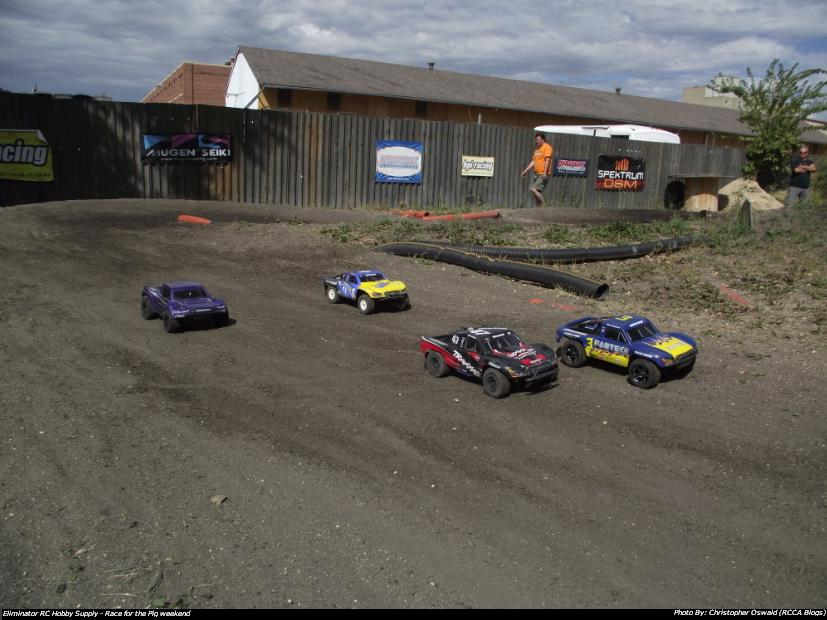 Annual Race For The Pig Weekend – Eliminator R/C Hobbies, Trackside