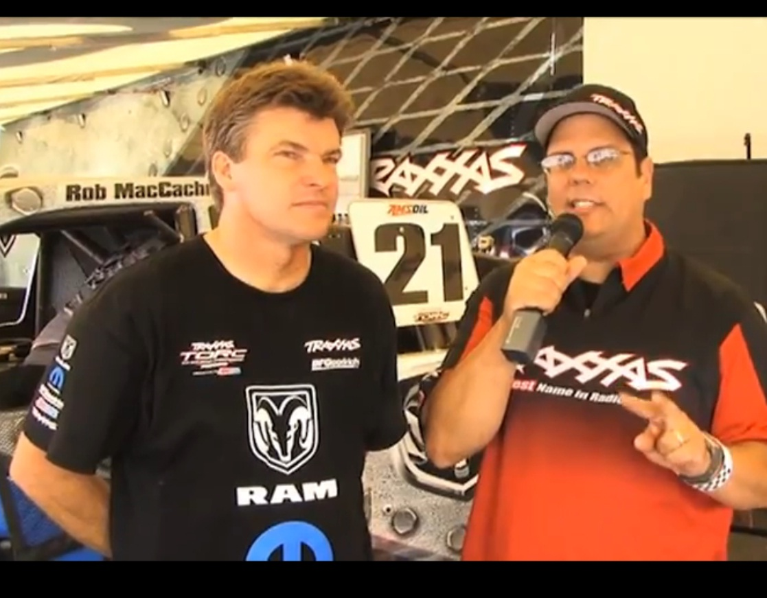 Traxxas TORC Racer Rob MacCachren Explains Tire Grooving