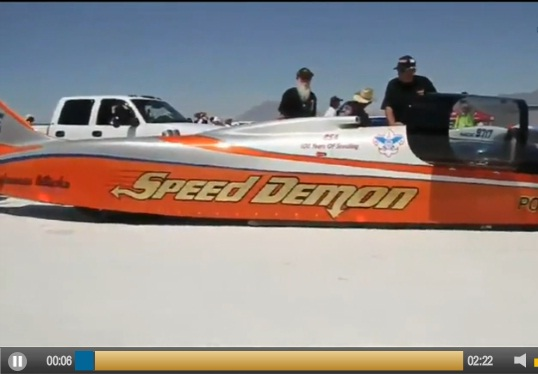 426 MPH Car. Now That's FAST!