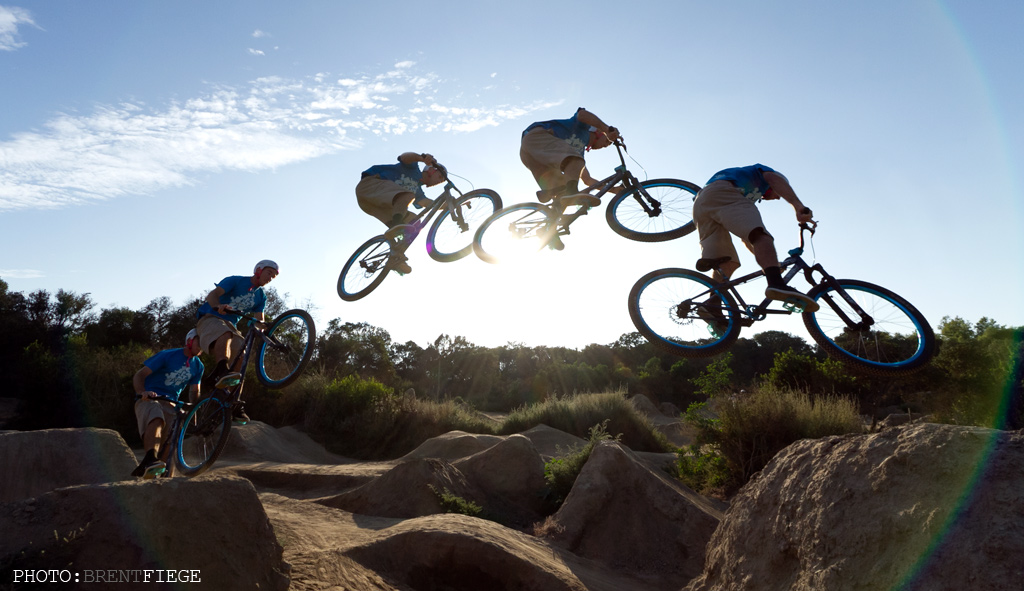 Dirt Jumping (BMX) with Jared Tebo at Sheep Hills, CA (VIDEO)