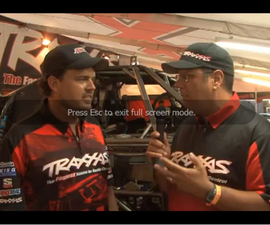 Traxxas Interview With Mike Jenkins after TORC Round 7 at Bark River