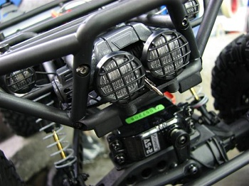"CKRC ""Dual Mount"" Winch plate For The Axial Wraith"