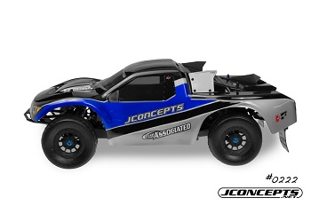 JConcepts Hi-Flow SCT Body And Hazard Wheels
