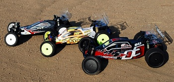 "DE Racing ""Borrego"" 1/10 Buggy Wheels"